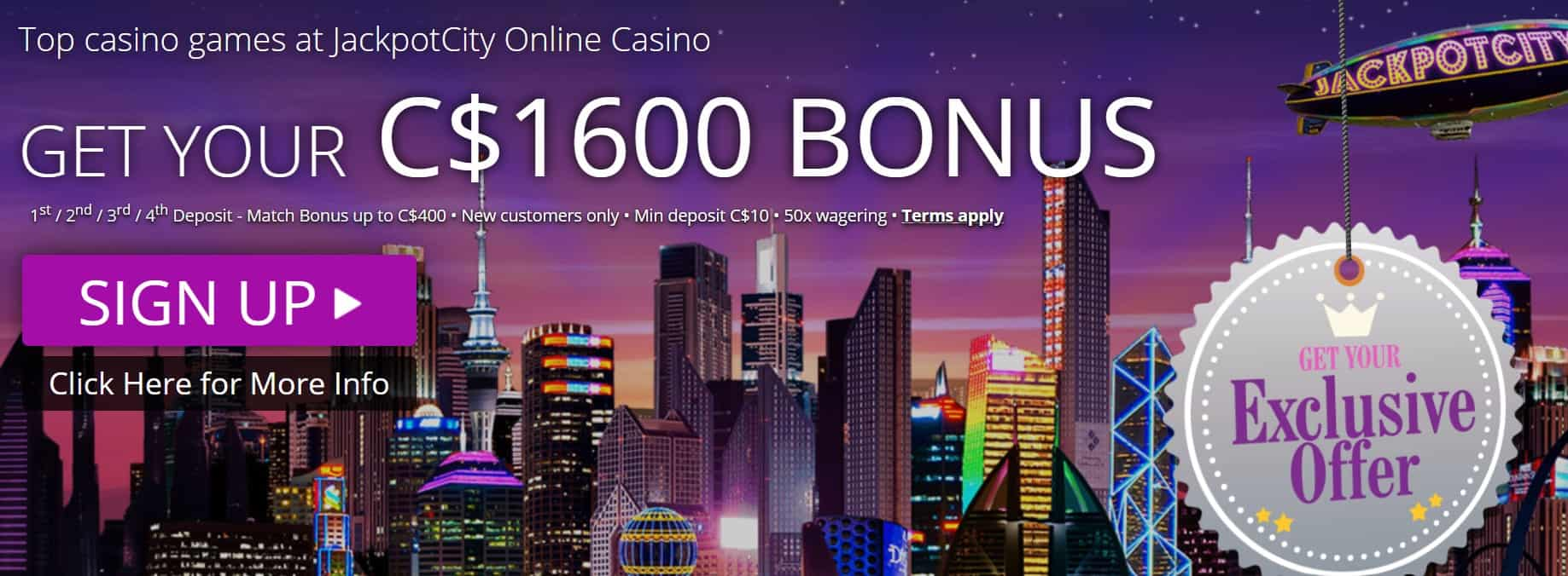 Casino Jackpot City avis : ce qu'on a pu conclure !